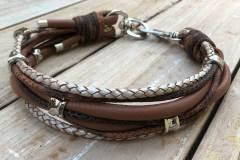 hundehalsband-leder-mix-in-braun-perlmutt-Kopie