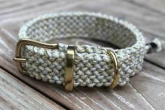 hundehalsband_3_cm_breit_weiß_gold_Metallic-Glitter-White-Gold-Tracer-X_1