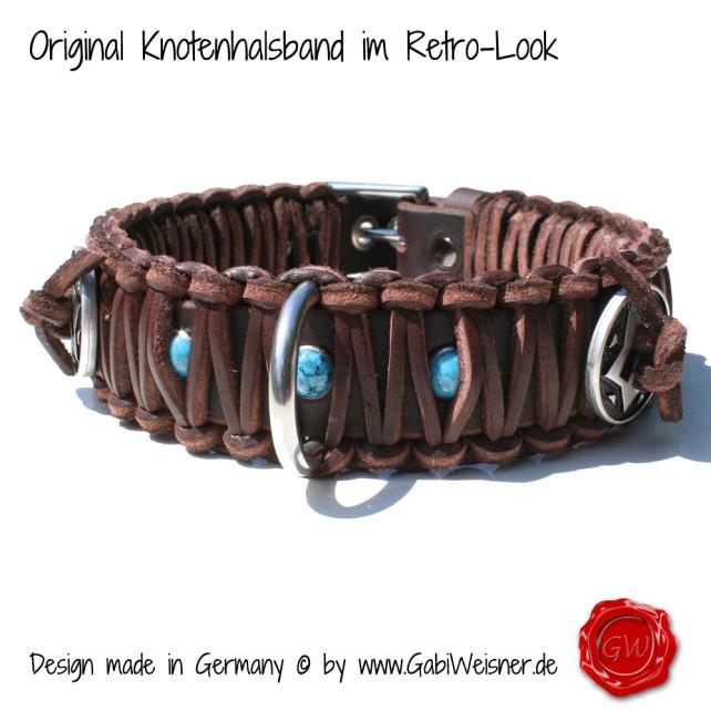 Knotenhalsband im Western-Look
