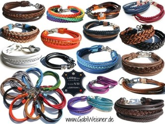 Hundehalsband-Leder