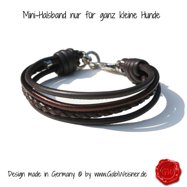 Mini-Halsband ................nur für ganz kleine Hunde