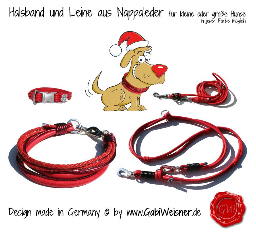 Halsband Shop - Hundehalsband Leder