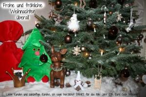 Frohe und fröhliche Weihnachten