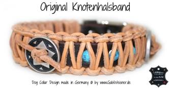 Indianer Halsband 3 cm breit für kleine und große Hunde,