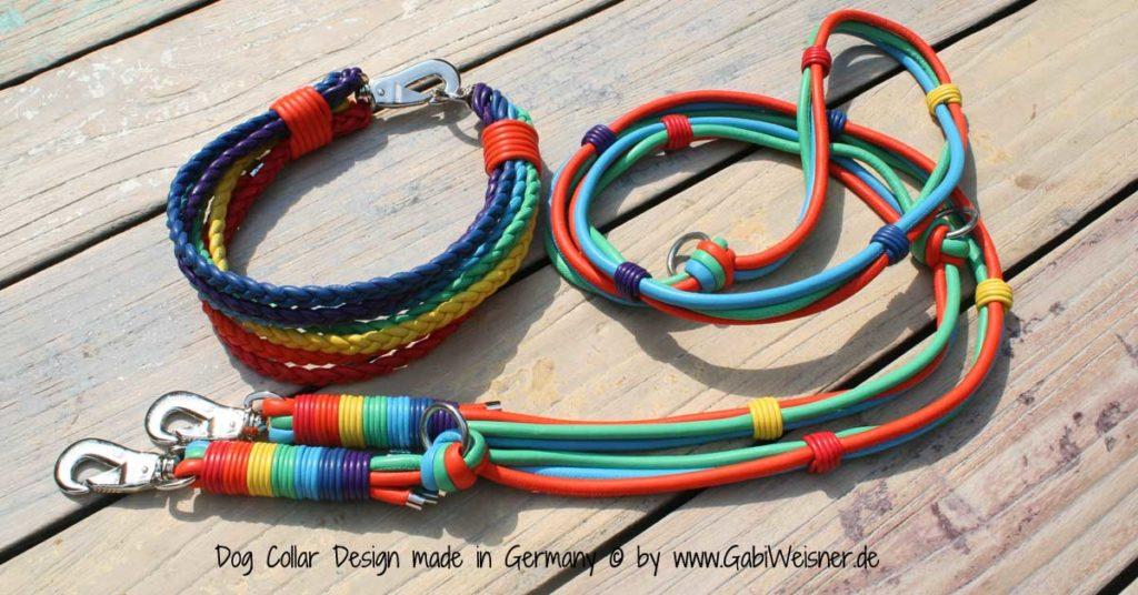 Hundehalsband-Regenbogen-5