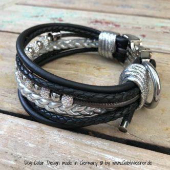Windhund Halsband Luxus 4 cm breit