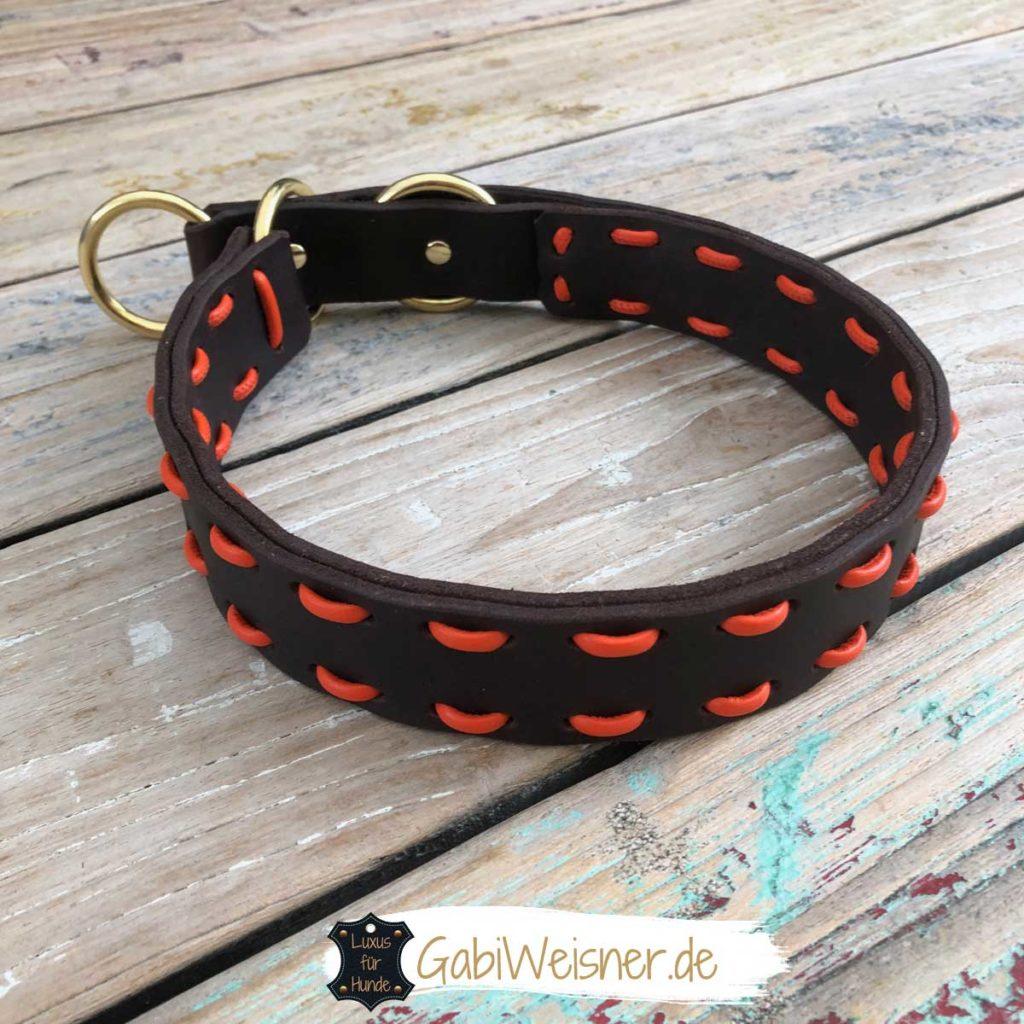 Zugstopp Halsband für große starke Hunde