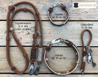 Halsband und Leine zusammen am schönsten