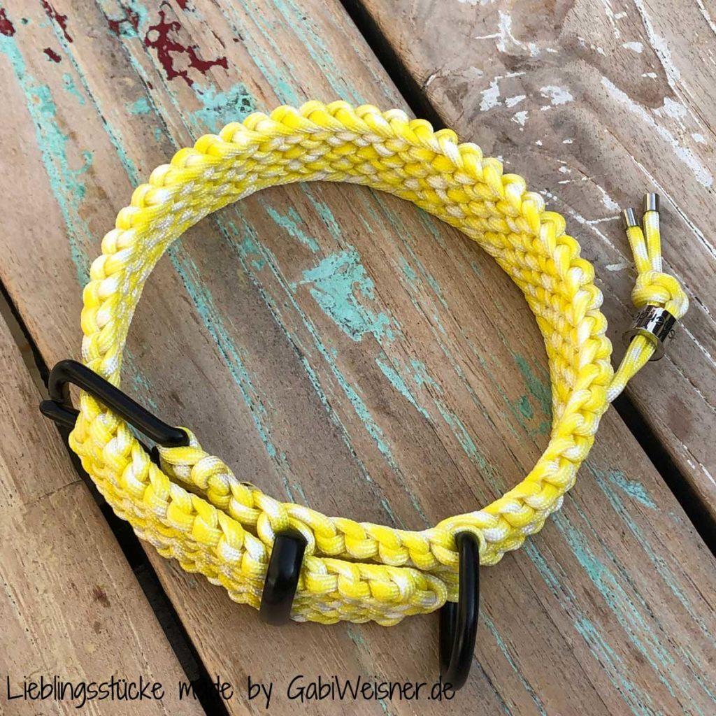 Luxus Hundehalsband stufenlos verstellbar