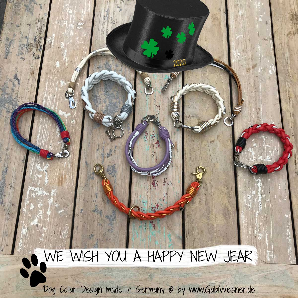 WE WISH YOU A HAPPY NEW JEAR