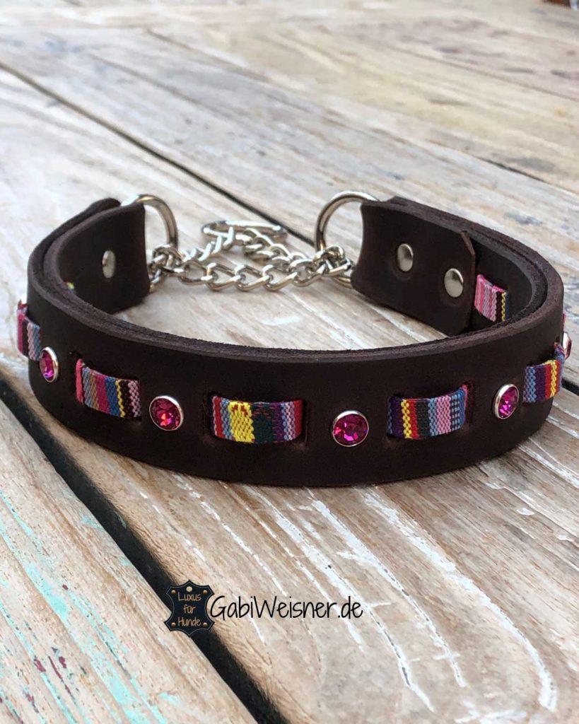 Hundehalsband Hippie, Boho, Indianer Look